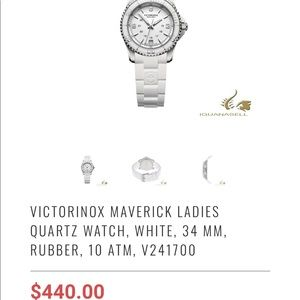 Victorinox Swiss Army Stainless Steel Watch